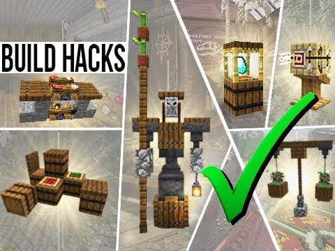Minecraft Furniture Hacks